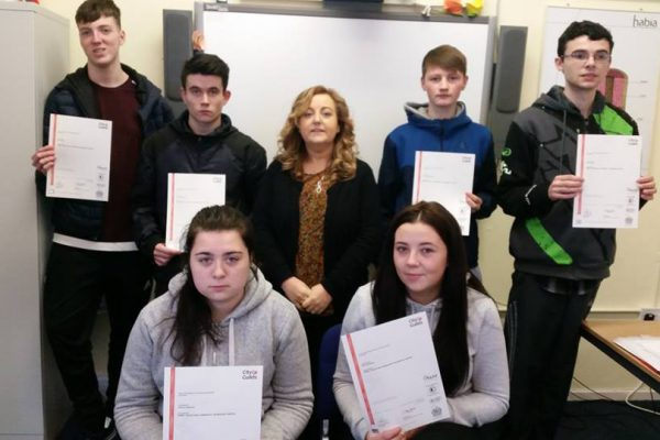 Presentation of Personal and Social Skills Certificates TFS