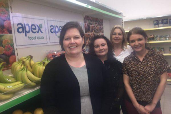 Apex fOOD Bank Volunteering